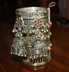 Chandelier Filligree Earrings Afghan Kuchi Earrings by BohemioRose