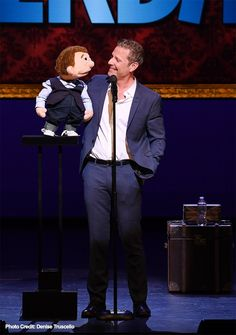 Paul Zerdin: Mouthing Off at Planet Hollywood