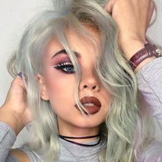 @snitchery looking extra babe-ly in 'Saddle' and 'Buffy' Velvetines mixed and our Venus Palette  Shop your faves ➡ limecrime.com #limecrime #velvetines #venus