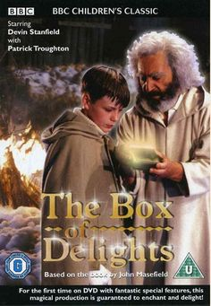 The Box of Delights tells the story of young Kay Harker, who is given a magical box to protect by a travelling Punch-and-Judy man. Christmas Ghost, Mike Newell, Fantasy Tv Shows, Punch And Judy, Classic Video, Romance Movies, Cult Movies, Kids Tv, Tv Episodes