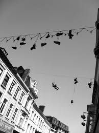 Image result for hanging shoes