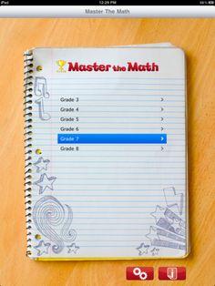 Math App 3-8 grade