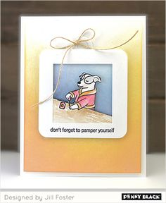 Penny Black Cards, Penny Black Stamps, Dog Cards, The Fosters, Blog, Girl Stuff, Stamping, Design