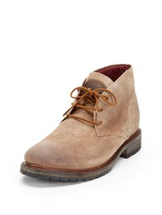 Bryce Suede Chukkas by Vintage Shoe Company at Gilt