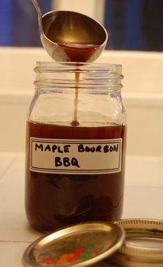 Maple Bourbon bbq sauce