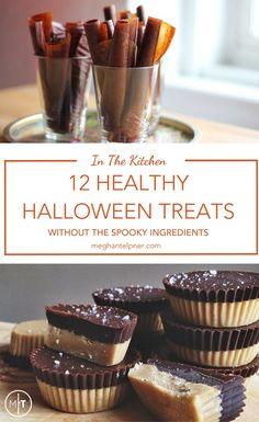 Healthy Halloween: Top 12 Healthy Treats for Halloween
