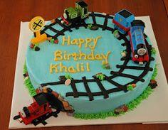 CASH'S CAKES: Thomas the Train cake CHOO CHOOO!