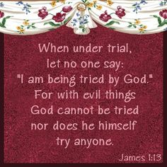 Never blame God for any bad things that happen. God has nothing to do with badness. That's the Devil's job. (Death, sickness, accidents, hunger, poverty, war, crime, even little bad things that people say happened 'for a reason'. THEY ARE ALL CAUSED BY THE DEVIL. Not by our loving creator Jehovah.