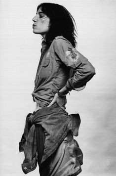 Inspiration: Patti Smith in Amsterdam, 1975, photographed by Gijsbert Hanekroot.