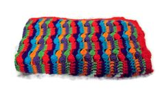 Vibrant Bright Colorful Stripes And Clusters by amydscrochet, $30.00 #pcfteam
