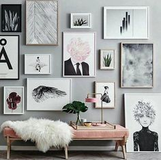 6 STYLING IDEAS TO CREATE A STATEMENT PICTURE WALL IN YOUR LIVING ROOM | INTERIORS ONLINE