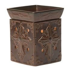 Faith Scentsy warmer.   Love the smell of Linger melting in my warmer.