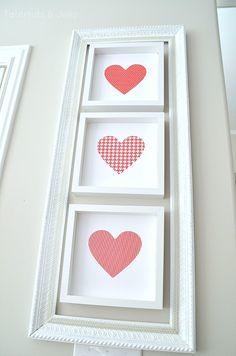 heart printables at tatertots and jello