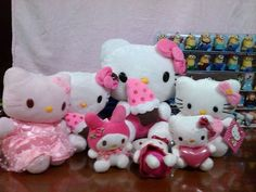Hello Kitty Stuffed Toy @ Various Sizes