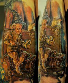 Tattoo by Dmitriy Samohin. I'd like to suggest my personal website about gift ideas and tips. The site is http://ideiadepresente.com You're welcome to visiting my website! [BR] Eu gostaria de sugerir meu site pessoal de dicas de presentes, o site � http://ideiadepresente.com