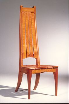 Hand Made High Back Chair By Mission Evolution