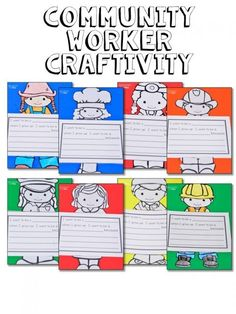 A community helpers unit with a fabulous freebie for your primary students!