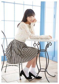 Yui Oguri Cover Girl on Tokyo Walker Magazine School Girl Outfit, School Uniform Girls, Girls Uniforms, Cute Asian Girls, Beautiful Asian Girls, Cute Girls, Japanese Beauty, Japanese Girl, Asian Beauty