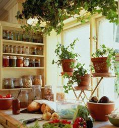 Simple and beautiful kitchen. LA CASA AZUL DECORACION CARTAGENA