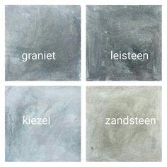 muurverf,betonlook,zandsteen,leisteen,graniet,kiezel