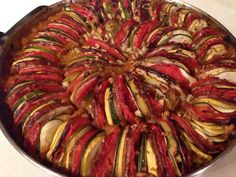 [Homemade] Ratatouille Pixar style #food #foodporn #recipe #cooking #recipes #foodie #healthy #cook #health #yummy #delicious
