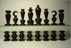 The Chess Art Thread - Chess Forums Pawn Sacrifice, Mosaic Tile Table, Chess Tactics, Crochet Game, Chess Set Unique, Chess Table, Bauhaus Design, Paper Board, Chess Pieces