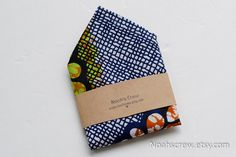 Pocket square Ankara African Wax print men's fashion