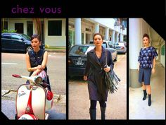 SUPPORT EMERGING DESIGNER: BIKER CHIC We are honored to style for this potential fashion brand - Biker Chic video shoot. We are fascinated by their collection. It is the perfect wear for working professionals with a wicked twist. Do look out for this brand! You'll love it.   Hair: Styled by Sam Chok (Associate Director)  #chezvous #supportemergingdesigners #bikerchic