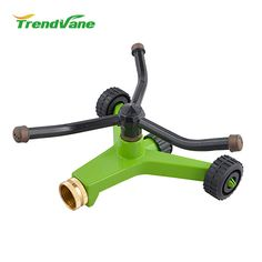 2018 new products plastic garden irrigation garden hose sprinkler lawn sprinkler head automated watering system