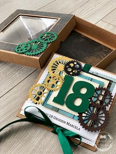 18th Birthday Cards, Masculine Cards, Card Tags, Handmade Cards, Babys, Decorative Boxes, Scrapbooking, Gift Wrapping, How To Make