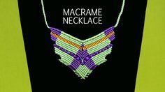 Flying Bird Necklace Tutorial #Macrame #Necklace #Tutorial