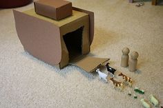 Creative Godly Play at Home – Old Testament. About a million Montessori-esque ideas for play.