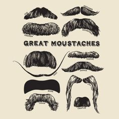 Great Moustaches.