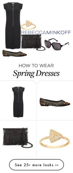 """""""Spring2016: Wear it now."""" by bellrae on Polyvore featuring Rebecca Minkoff, Barbour International, Carolina Herrera, Alice + Olivia, rebeccaminkoff and contestentry"""