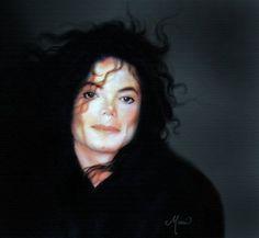 MJ painting