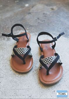 It's never too early to style your summer wardrobe. Click to shop TOMS new Lexie Sandals.