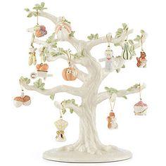 LENOX Ornaments: Ornament Tree Sets - Autumn Delights 12-pc Ornament Set