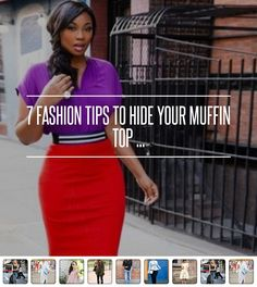 7 #Fashion Tips to Hide Your Muffin Top ...
