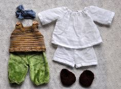 waldorf dolls clothes - boys