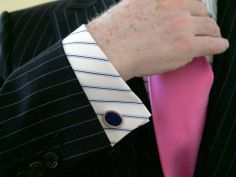 RJW Bespoke Shirt Against Nature NYC Suit Cufflinks by Baade