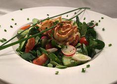 Schwäbische Krautkrapfen, vegetarisch und lecker zu einem Salat