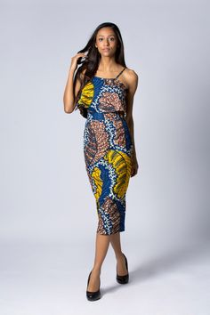 Pencil Wax print skirt, High Waisted Skirt, Batik skirt, Green skirt, African print skirt, Floral skirt, Cotton skirt by COLUFashion on Etsy https://www.etsy.com/listing/219167035/pencil-wax-print-skirt-high-waisted