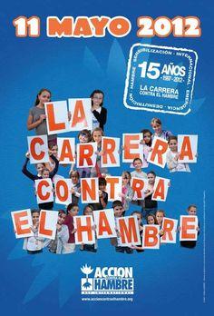 ¡Ya falta poco para la Carrera contra el Hambre!     Este viernes, más de 15.000 alumnos en España estaréis participando con nosotros en la 15ª edición de la Carrera contra el Hambre.    ¡Date prisa, todavía estás a tiempo de conseguir más patrocinadores!