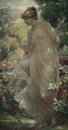 Robert Fowler R.W.S. | THE BUTTERFLY | Sotheby's