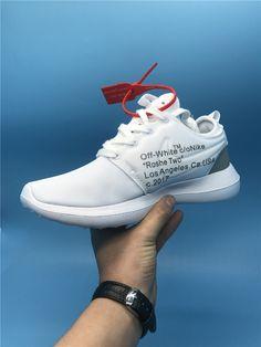 96609284f5b1 Off-White x Nike Roshe Running Shoes White on www.offwhiteonline.com Lebron