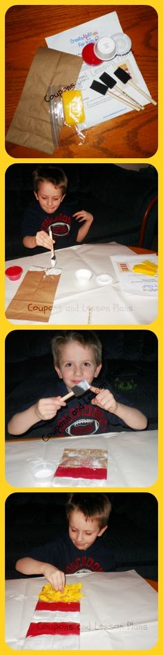 Coupons and Lesson Plans: Create Abilities For Kids ~ Art Kit Review