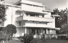 Het burgeemesterswoning te Makassar 1920-1940.