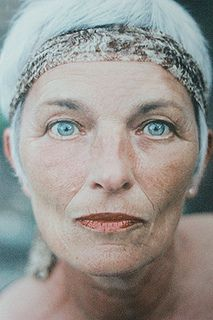 Penetrating blue eyes that even advancing age cannot change -  (by lieke romeijn, via Flickr)
