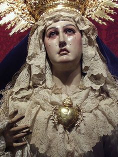 Mater Dolorosa Our Lady of Seven Sorrows in the church of San Miguel in…