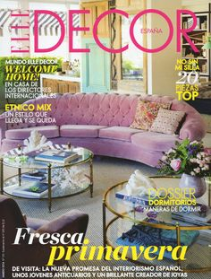 Revista ELLE DECOR Best Interior DesignInterior